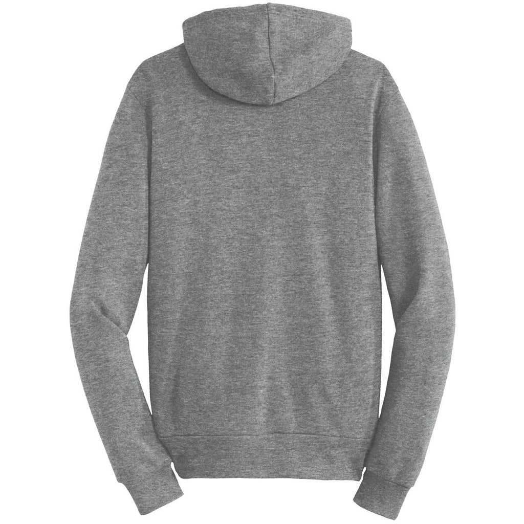 Alternative Men's Grey Challenger Eco-Fleece Pullover Hoodie