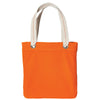 b118-port-authority-orange-allie-tote
