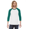 ca-bb453-american-apparel-green-raglan-tee