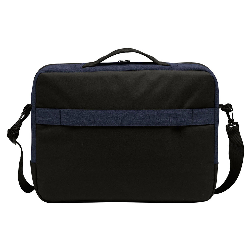 Port Authority Navy Heather Vector Briefcase
