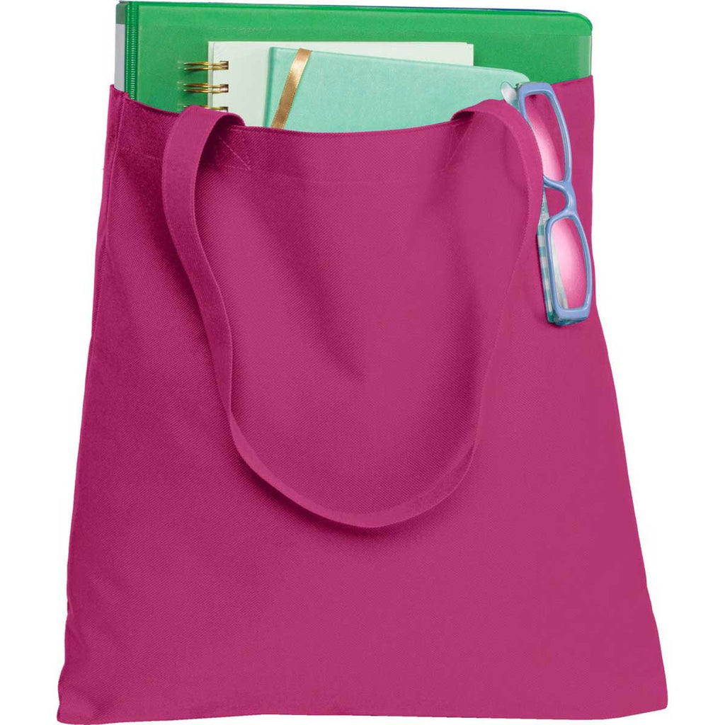 Port Authority Women's Pink Azalea Document Tote