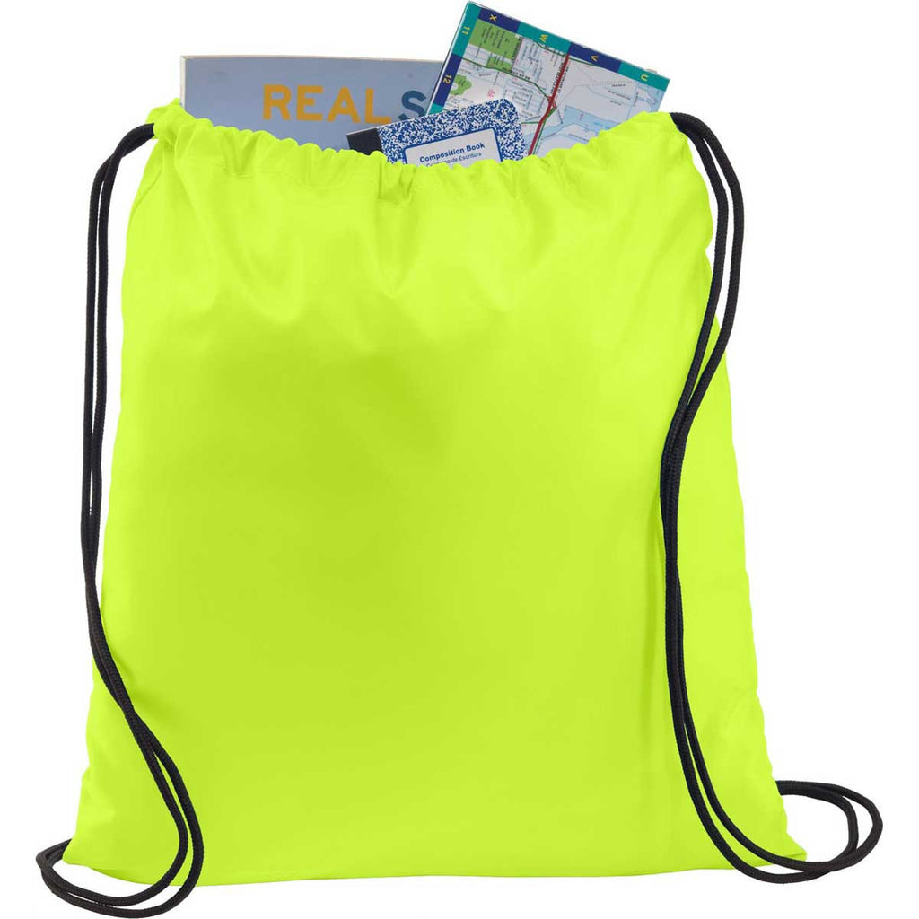 Port Authority Neon Yellow Ultra-Core Cinch Pack