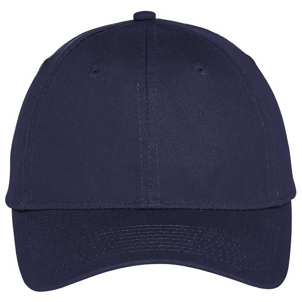 Port Authority True Navy Six-Panel Unstructured Twill Cap