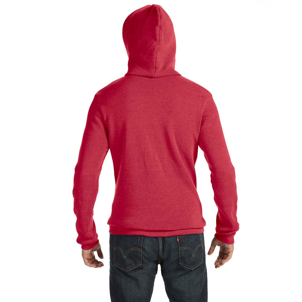 Alternative Men's Eco True Red Challenger Fleece Hoodie