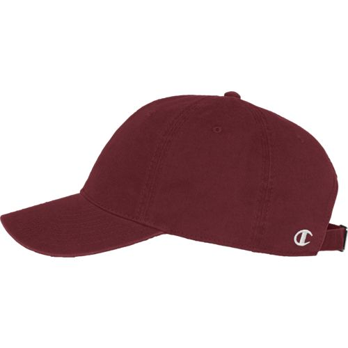 Champion Maroon Twill Hat
