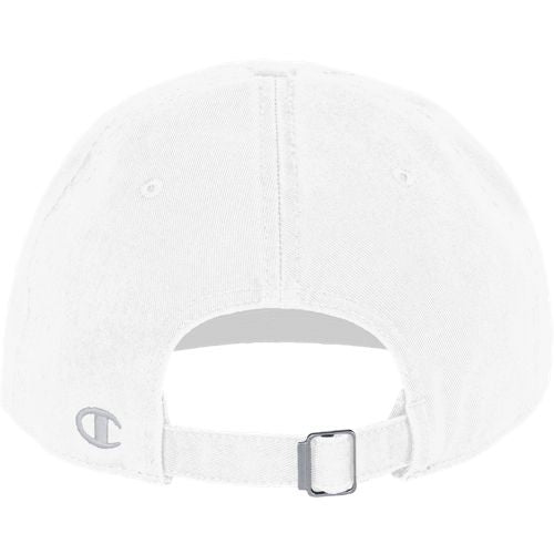 Champion White Twill Hat