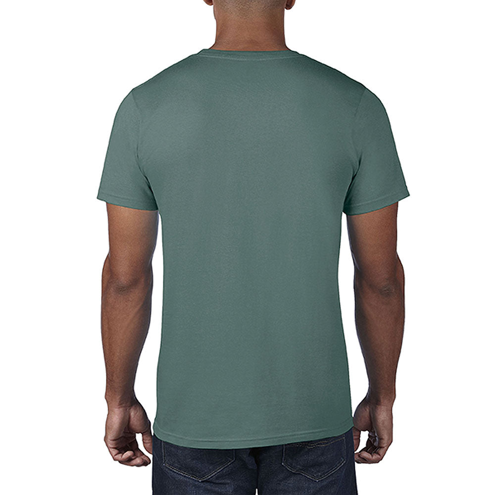 Anvil Men's Heather Dark Green Lightweight Tee