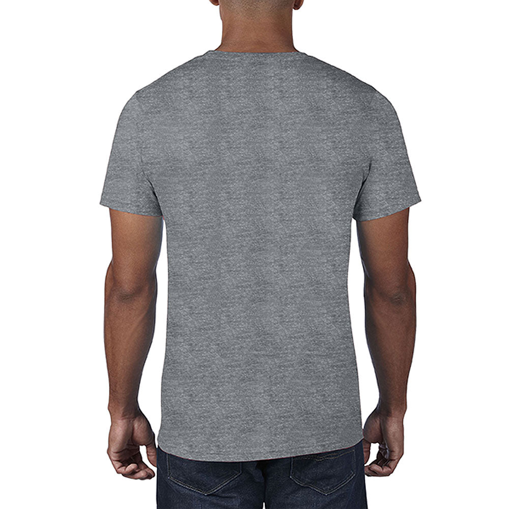 Anvil Men's Heather Graphite Lightweight Tee