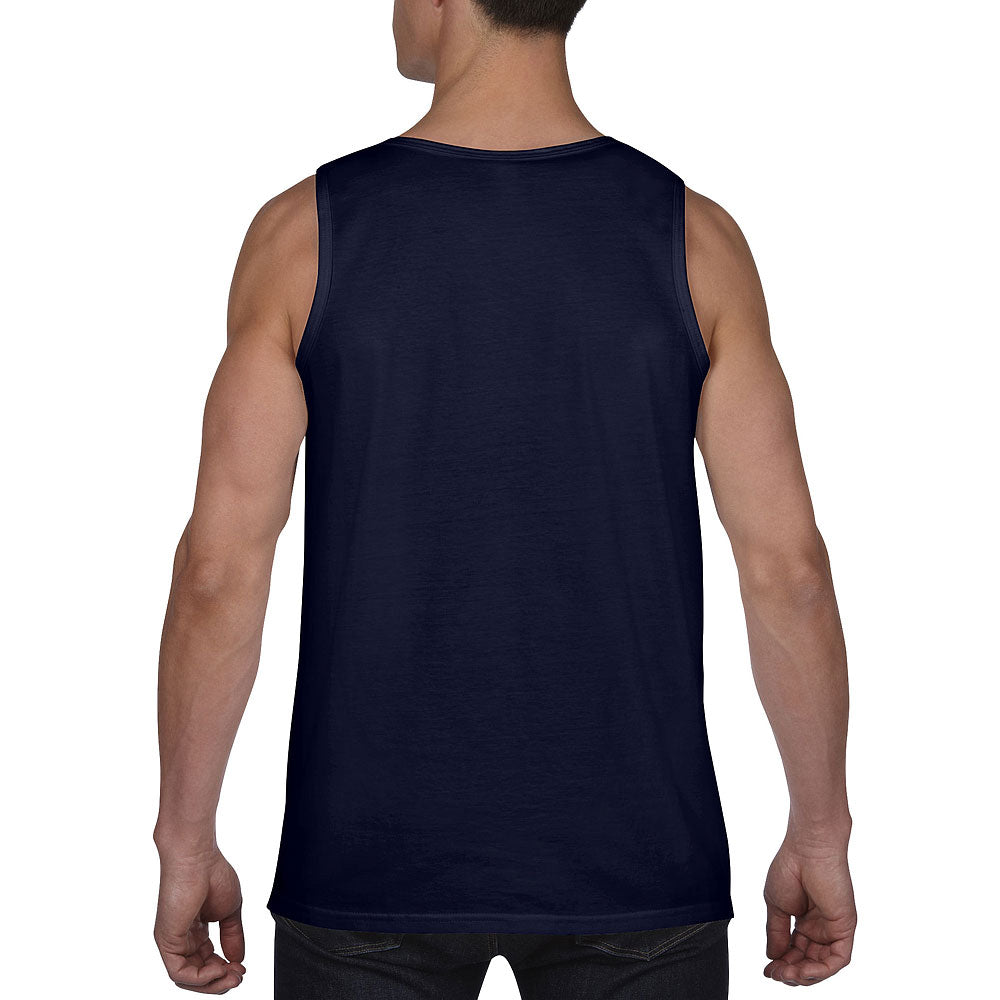 Anvil Men's Navy Lightweight Tank Top