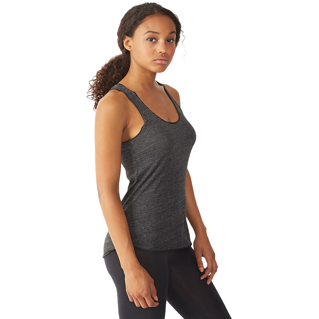 Alternative Women's Eco Black Meegs Racerback Jersey Tank