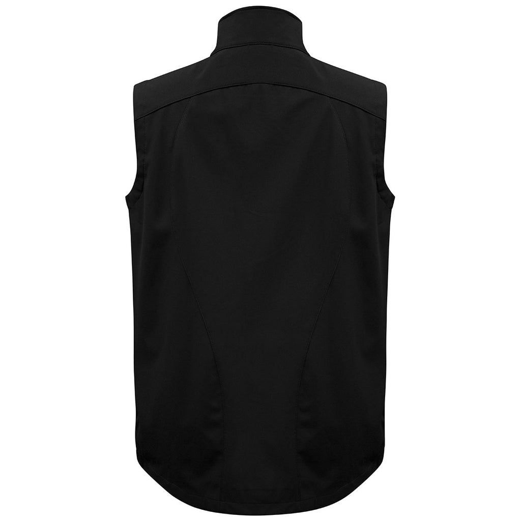 Biz Collection Men's Black/Cyan Geneva Vest