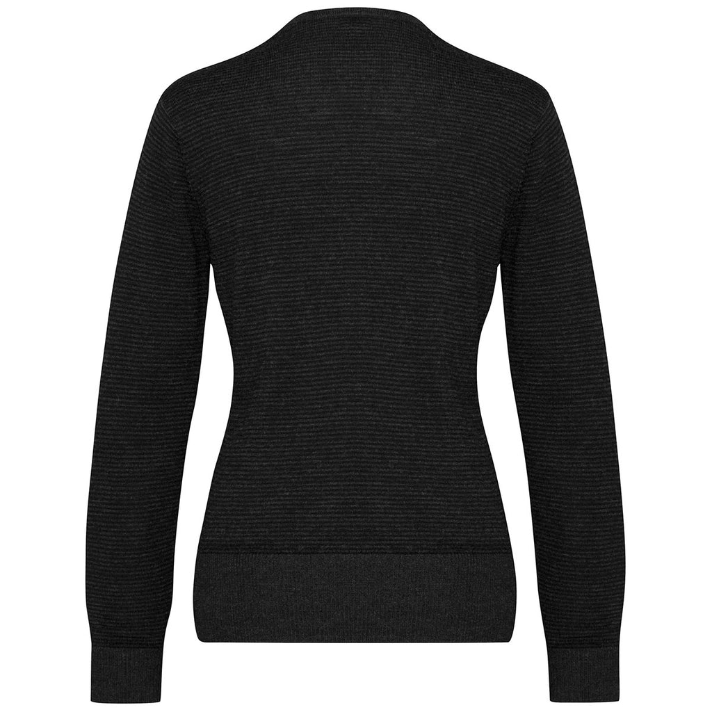 Biz Collection Women's Black Origin Merino Cardigan