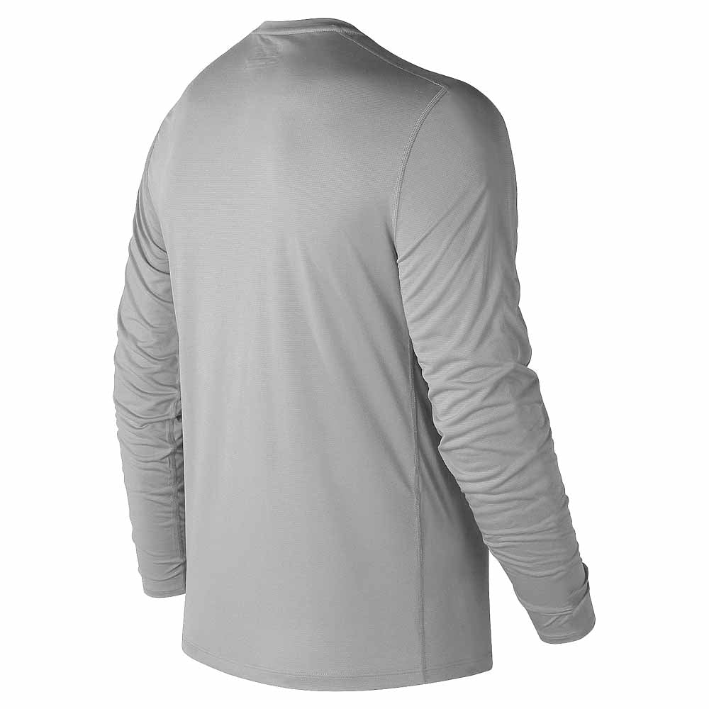 New Balance Men's Steel Long Sleeve Shirt