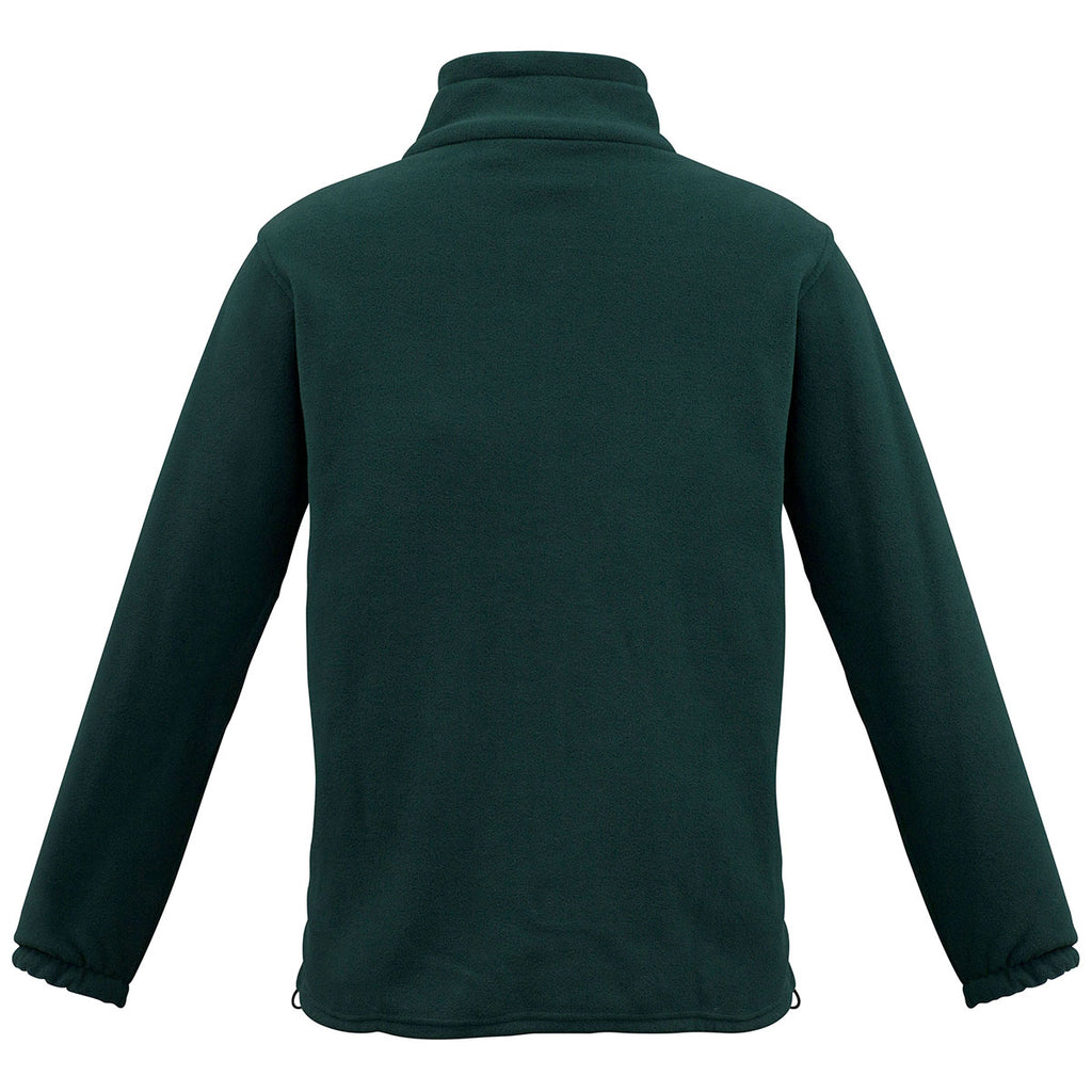 Biz Collection Men's Forest Plain Micro Fleece Jacket