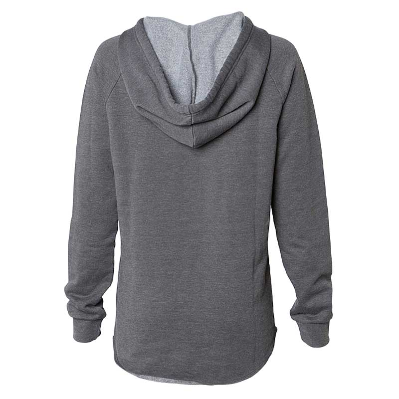 Independent Trading Co. Women's Shadow California Wave Wash Hooded Pullover