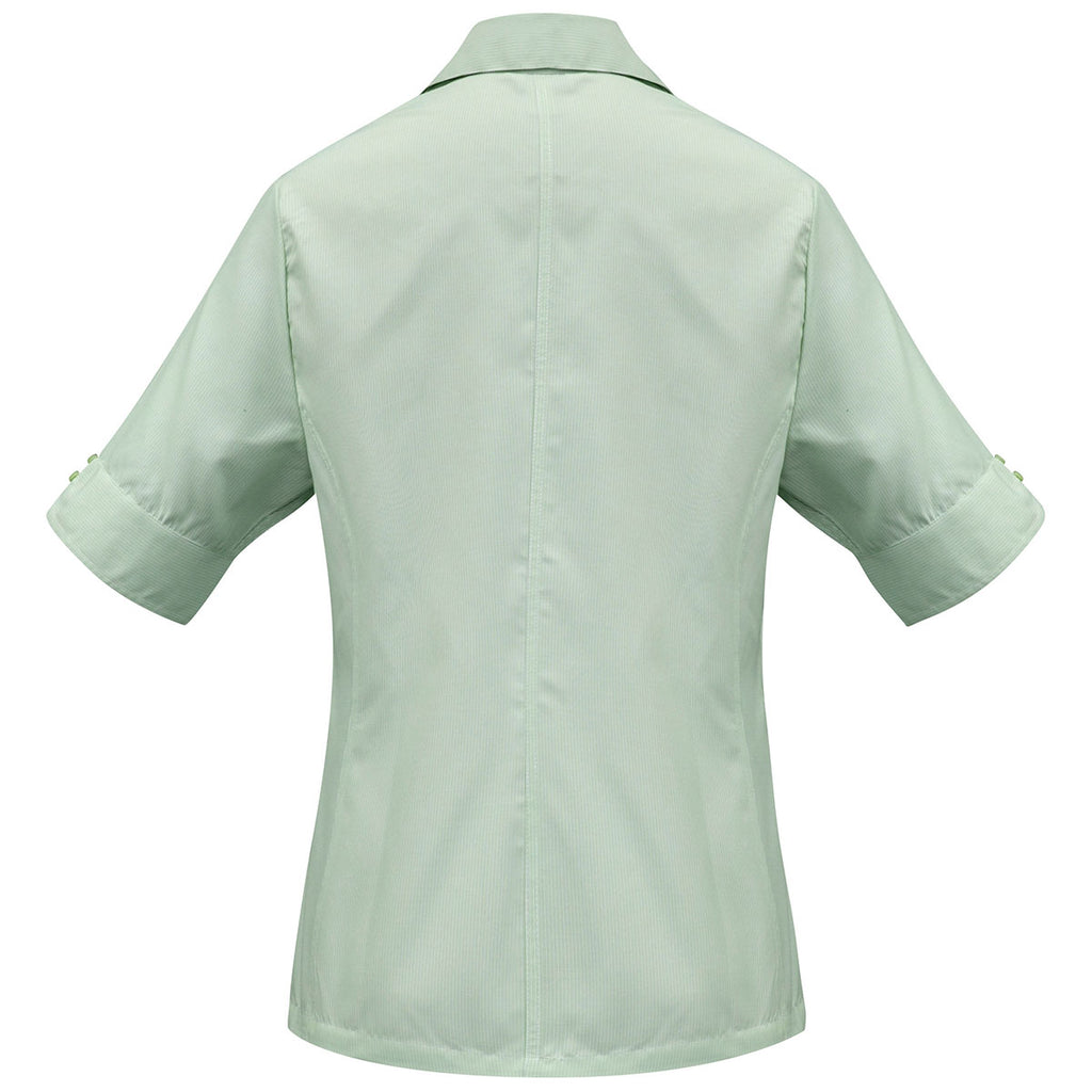 Biz Collection Women's Green Ambassador Short Sleeve Shirt