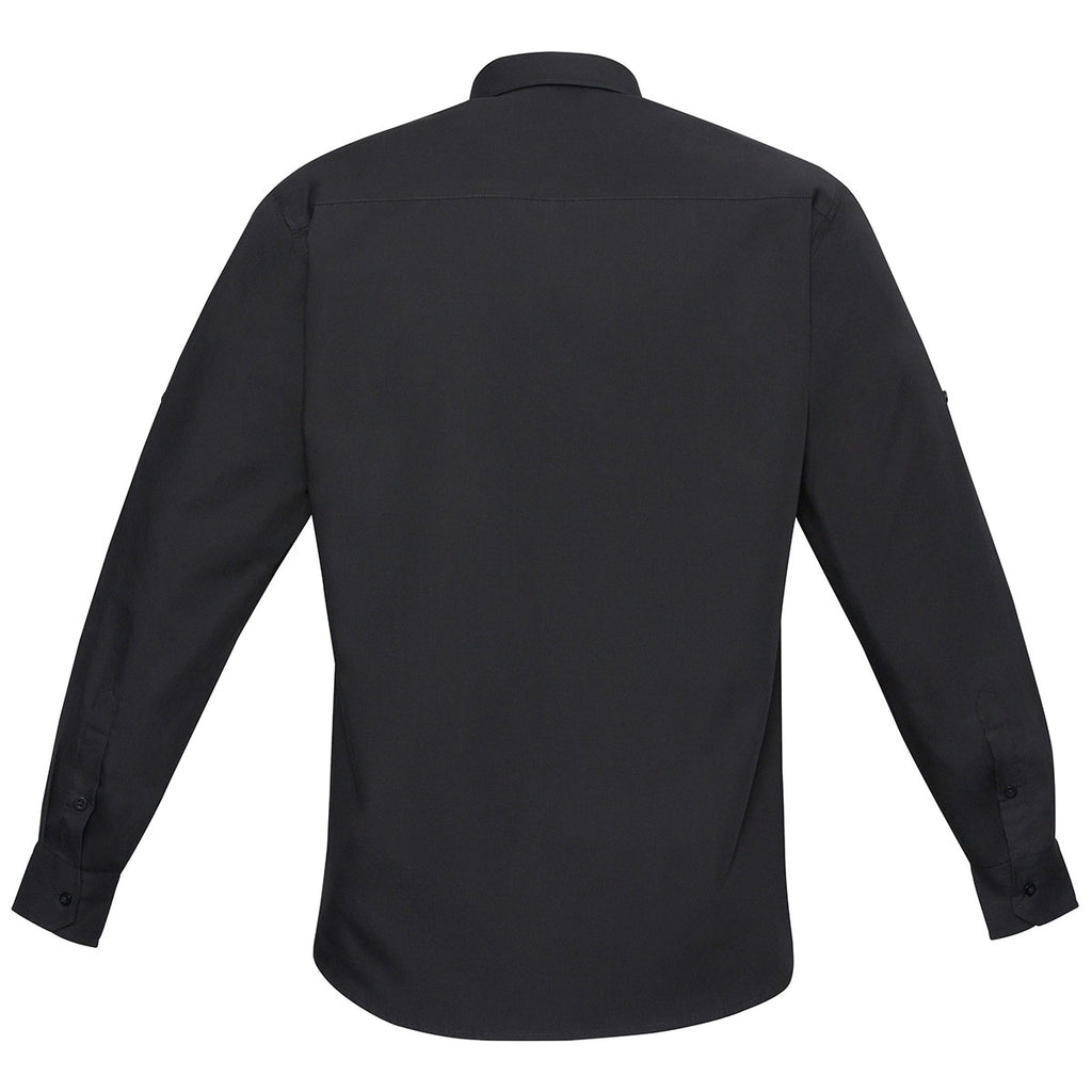 Biz Collection Men's Black Bondi Long Sleeve Shirt