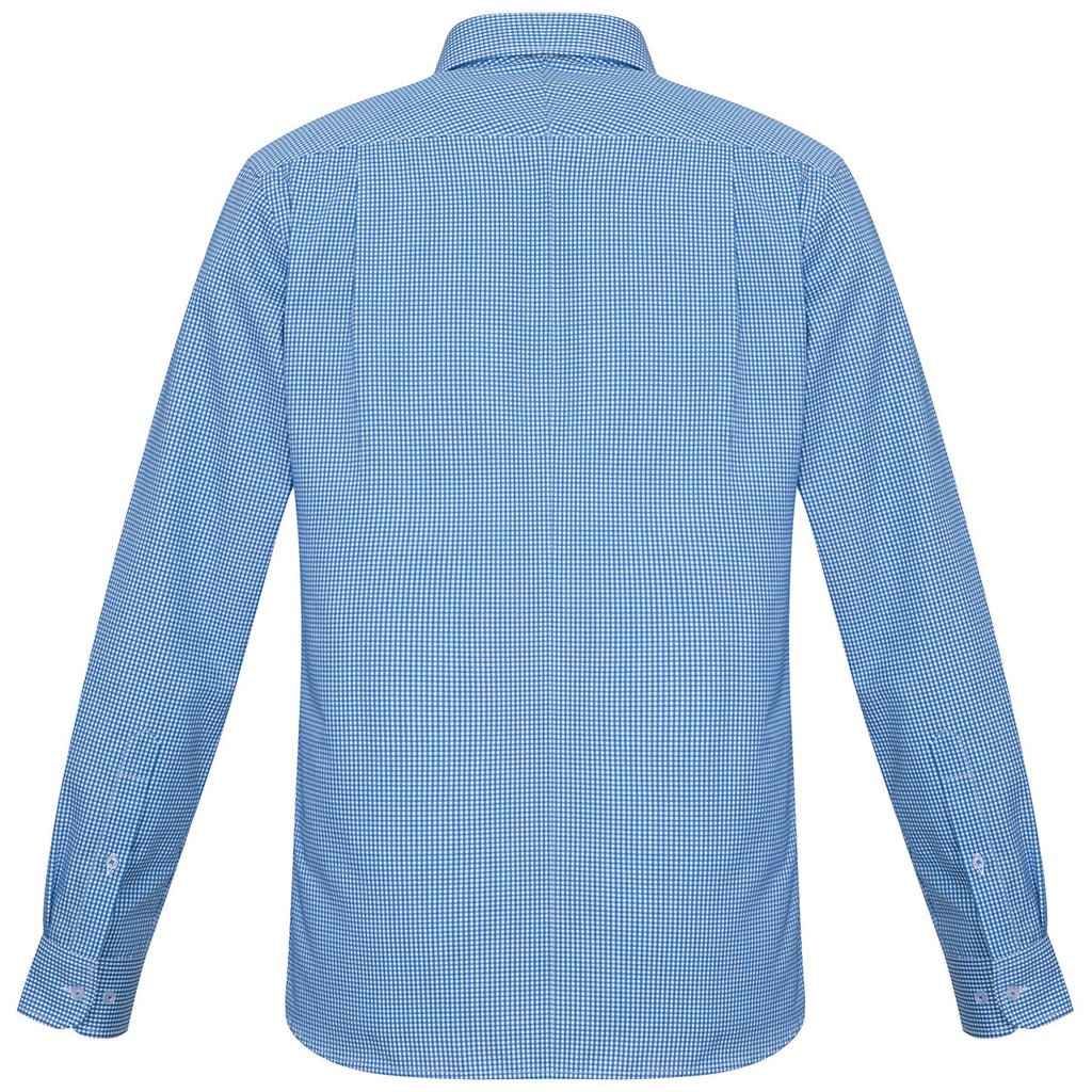 Biz Collection Men's French Blue Ellison Long Sleeve Shirt