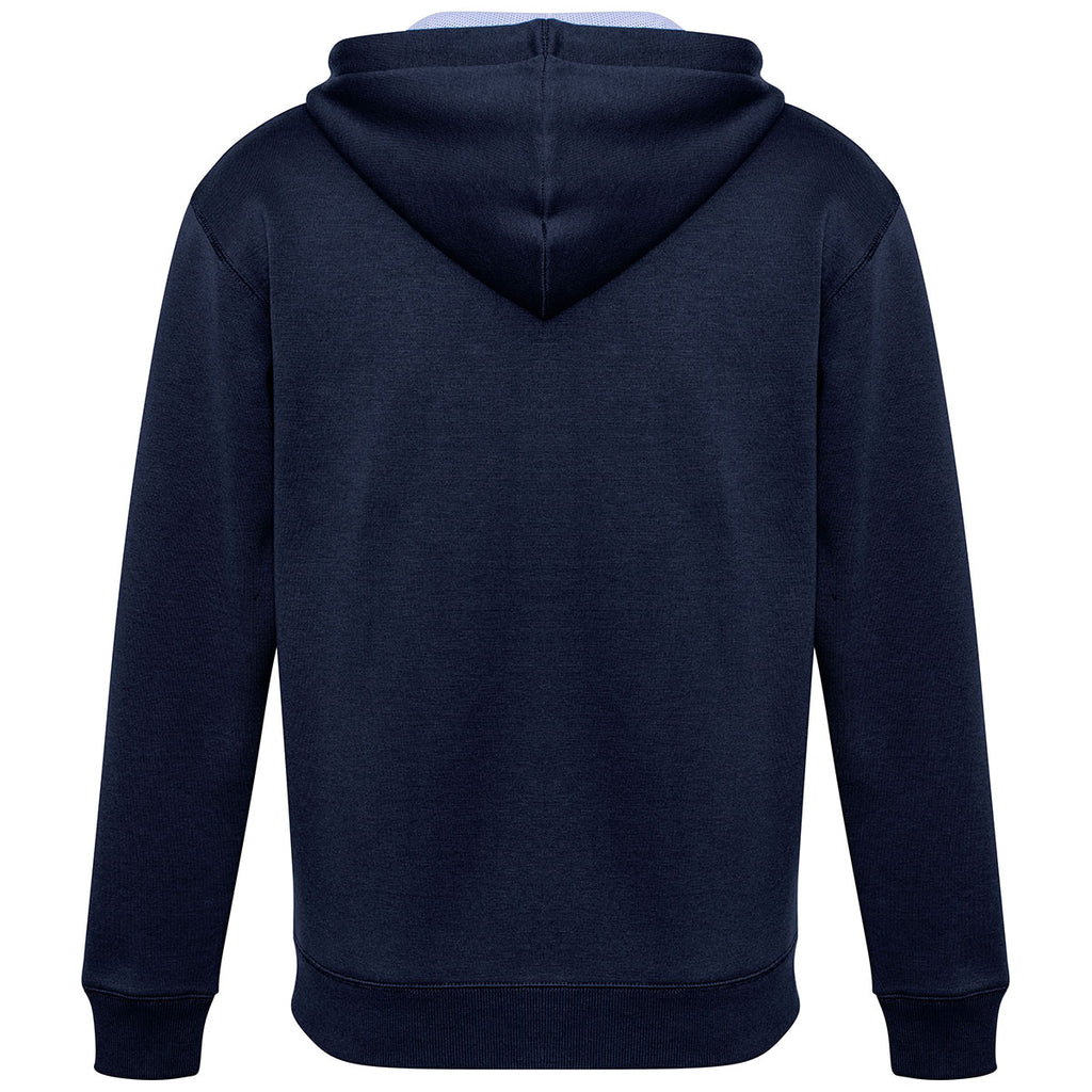 Biz Collection Men's Navy/White/Silver Renegade Hoodie
