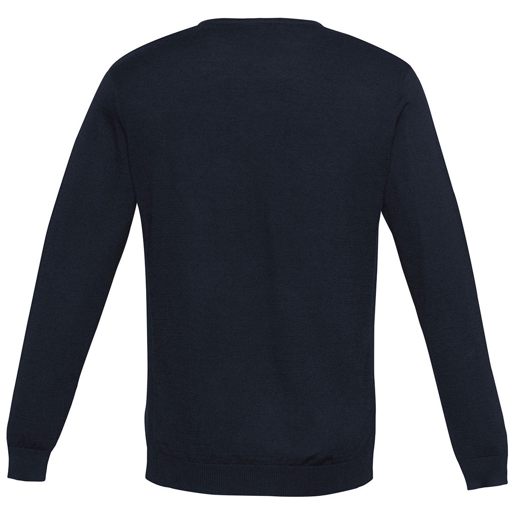 Biz Collection Men's Navy Milano Pullover