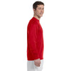 Champion Men's Red Long Sleeve Tee