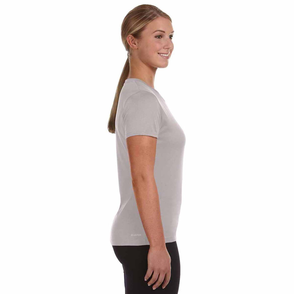 Champion Women's Slate Grey Heather Vapor Heathered Performance Tee