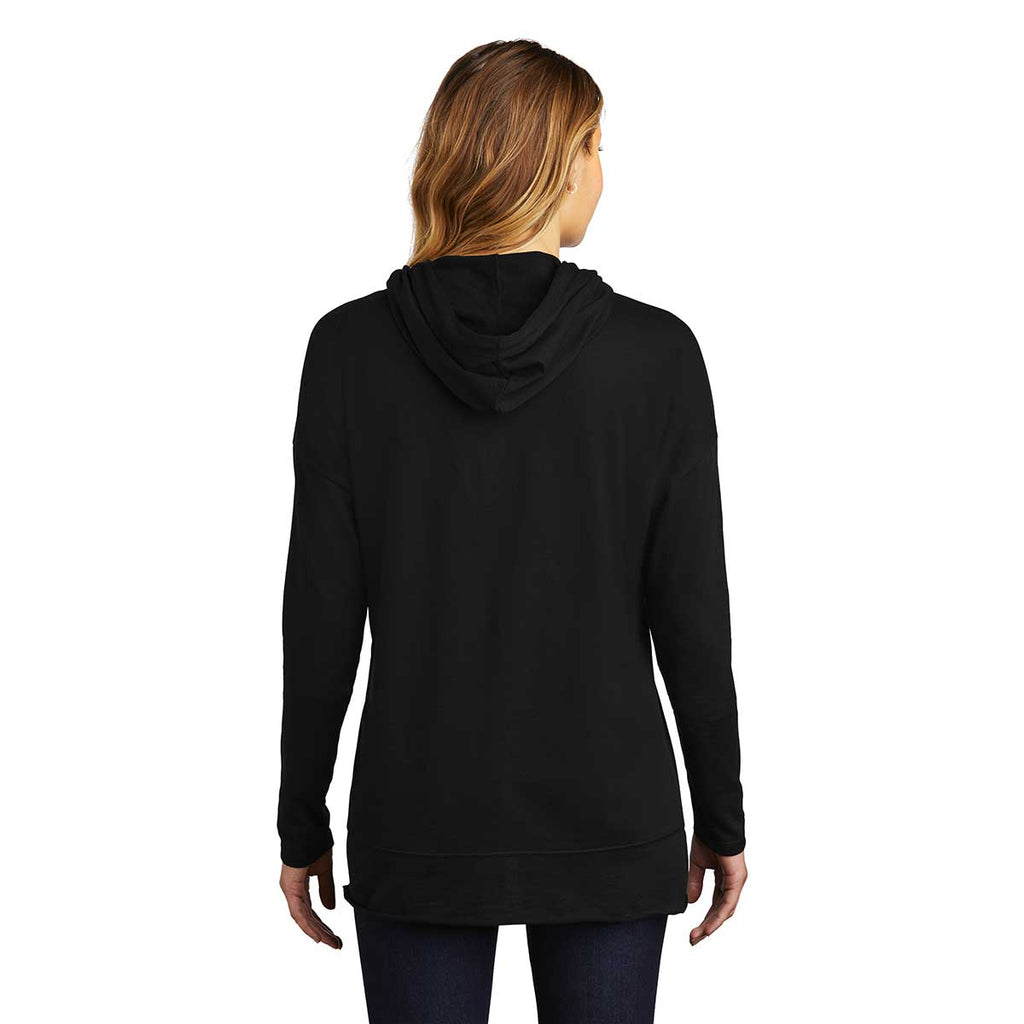 District Women's Black Featherweight French Terry Hoodie