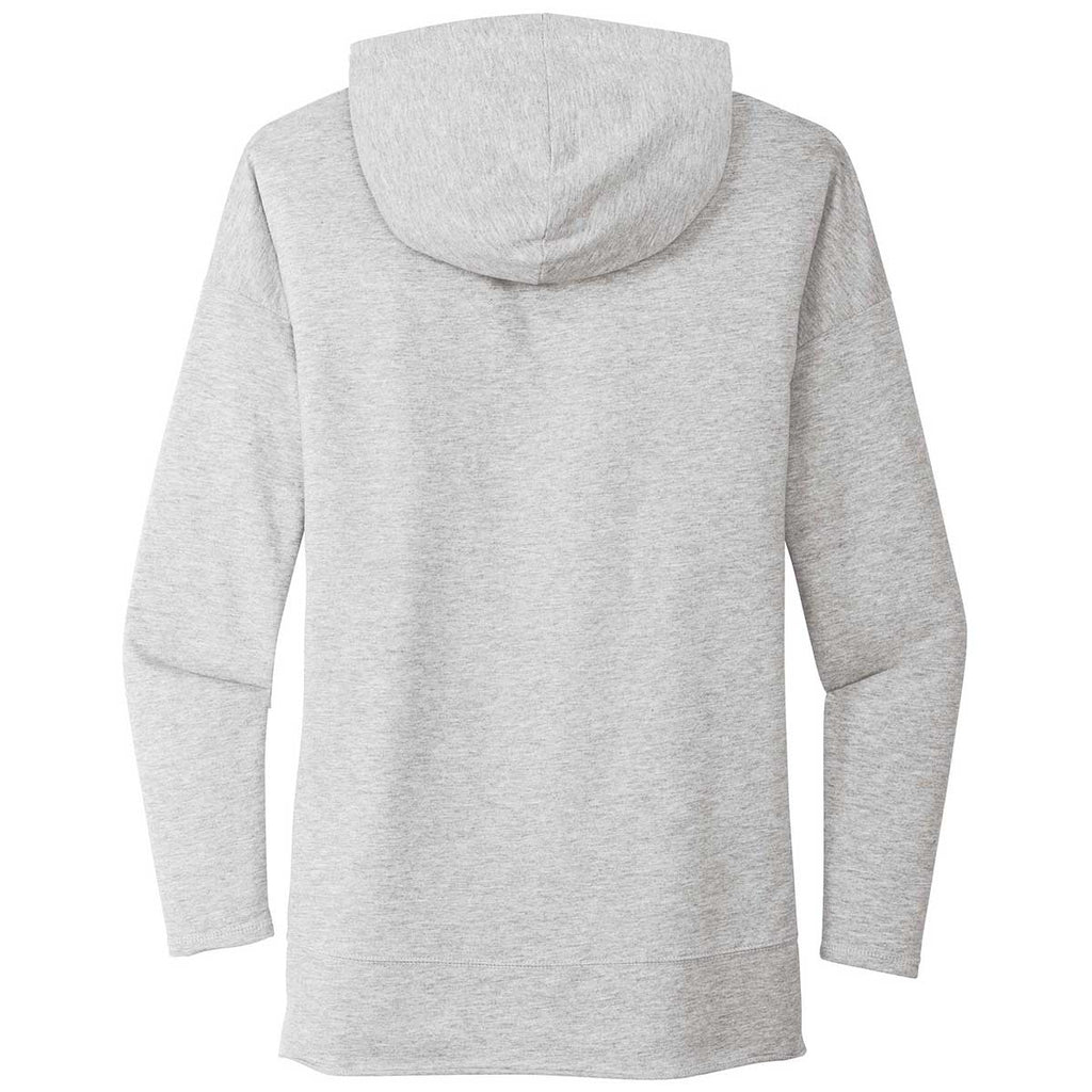 District Women's Light Heather Grey Featherweight French Terry Hoodie