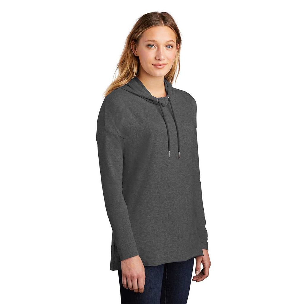District Women's Washed Coal Featherweight French Terry Hoodie
