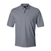 izod-light-grey-pique-polo