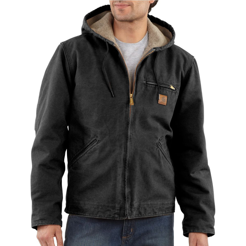 Carhartt Men's Black Sierra Jacket
