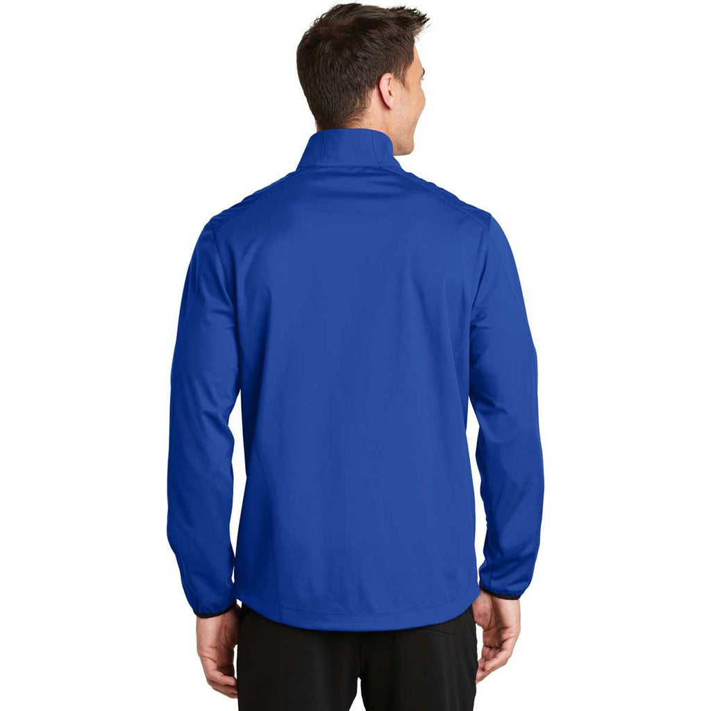 Port Authority Men's True Royal Active Soft Shell Jacket