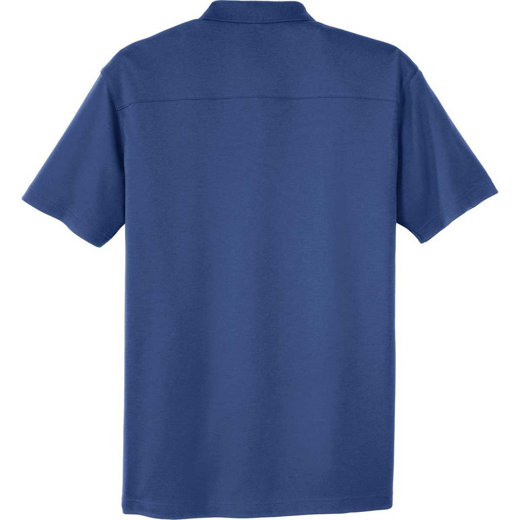 Port Authority Men's Royal Silk Touch Interlock Performance Polo