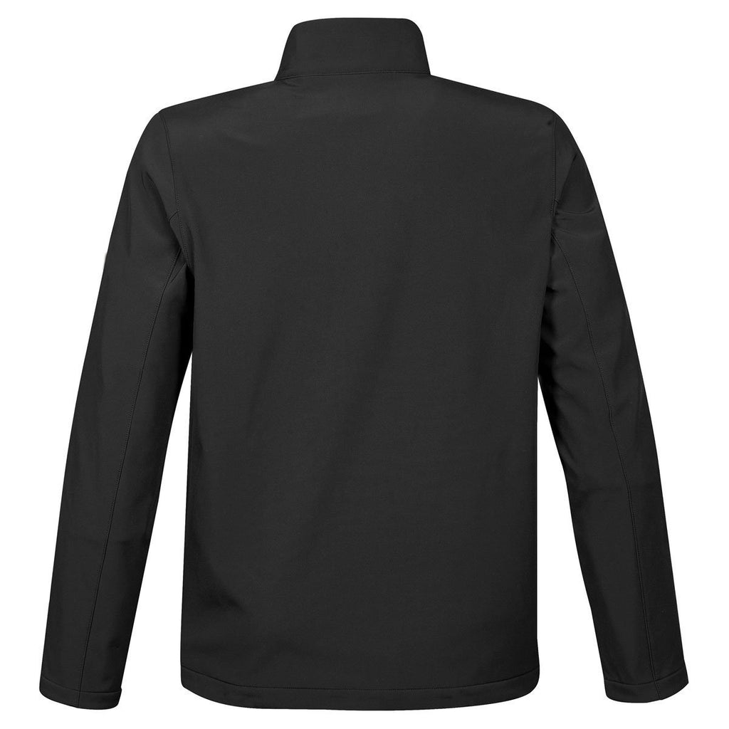 Stormtech Men's Black/Azure Blue Orbiter Softshell