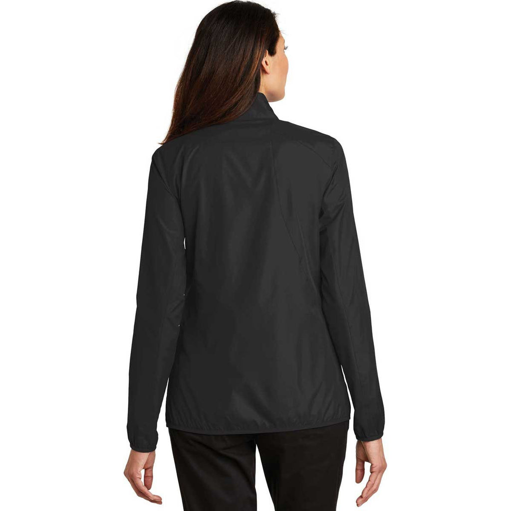 Port Authority Women's Black Zephyr Full-Zip Jacket