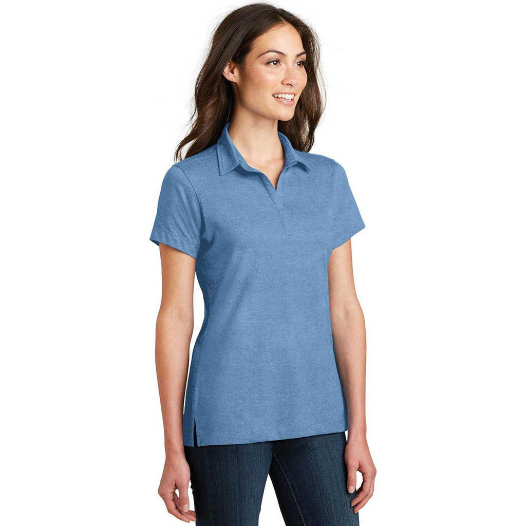 Port Authority Women's Blue Skies Meridian Cotton Blend Polo