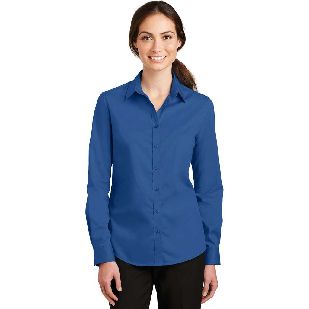 Port Authority Women's True Blue SuperPro Twill Shirt