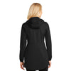Port Authority Women's Deep Black Active Hooded Soft Shell Jacket