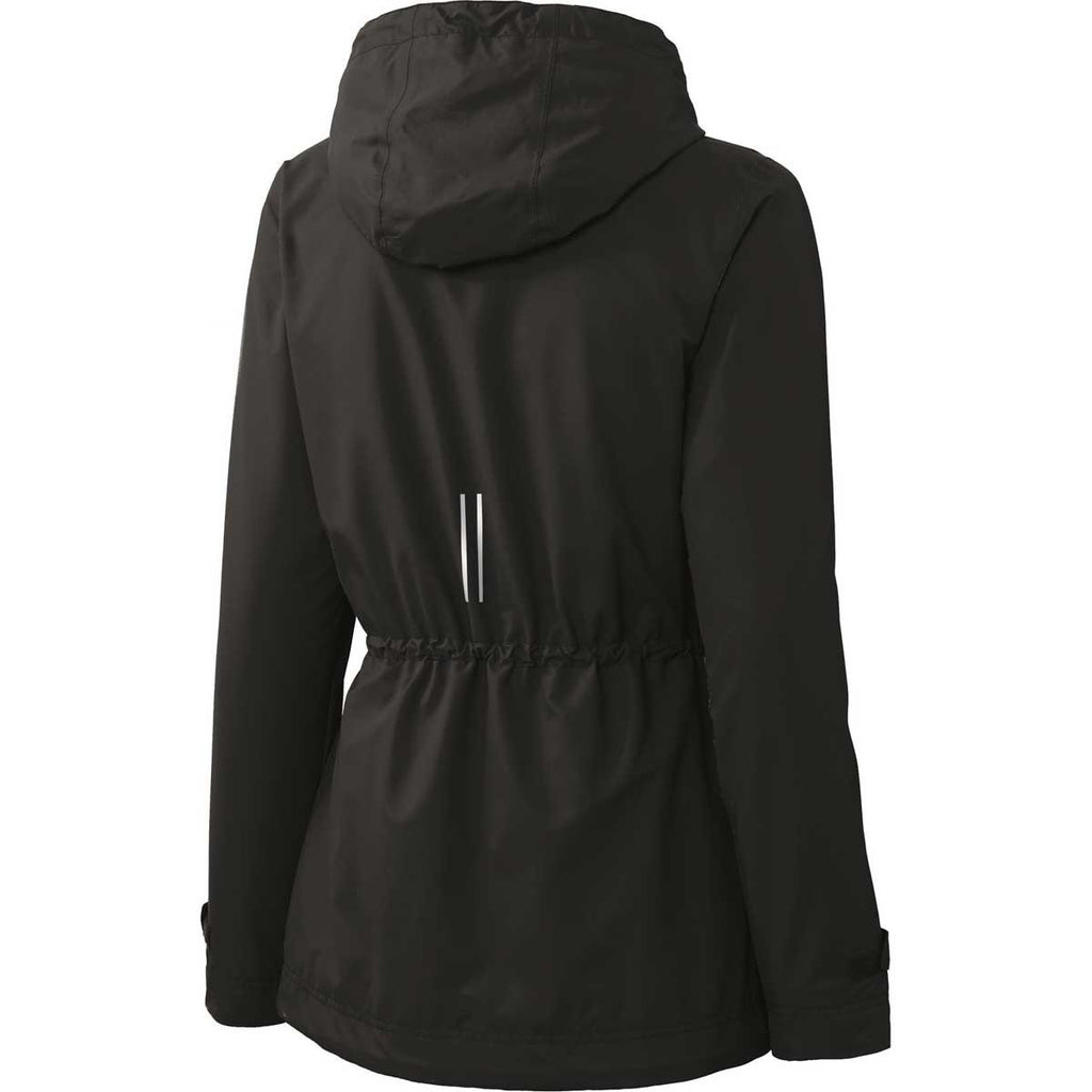 Port Authority Women's Black Northwest Slicker