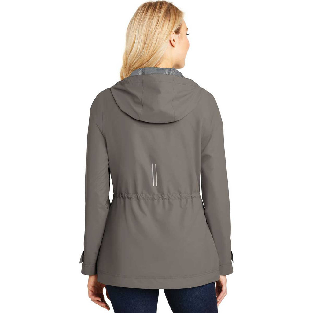 Port Authority Women's Northern Grey Northwest Slicker