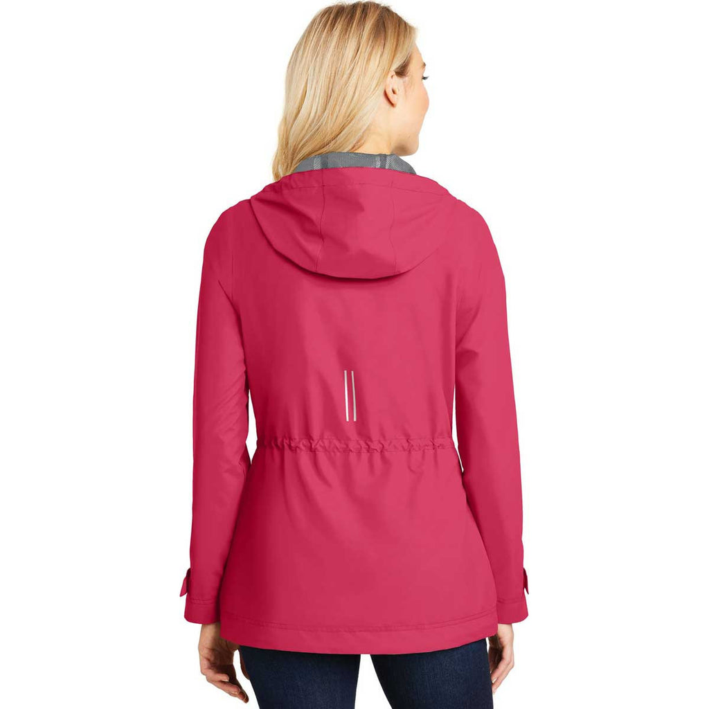 Port Authority Women's Pink Horizon Northwest Slicker