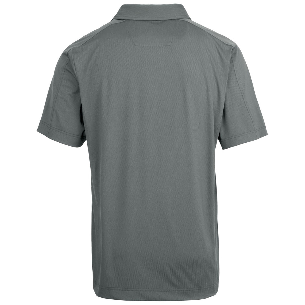Cutter & Buck Men's Elemental Grey Prospect Polo