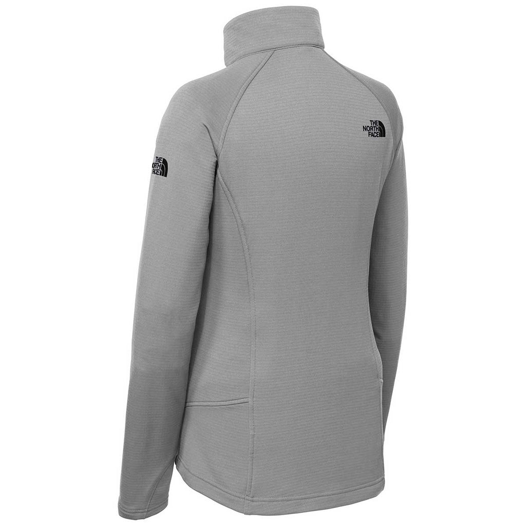 The North Face Women's Mid Grey Mountain Peaks Fleece Quarter Zip
