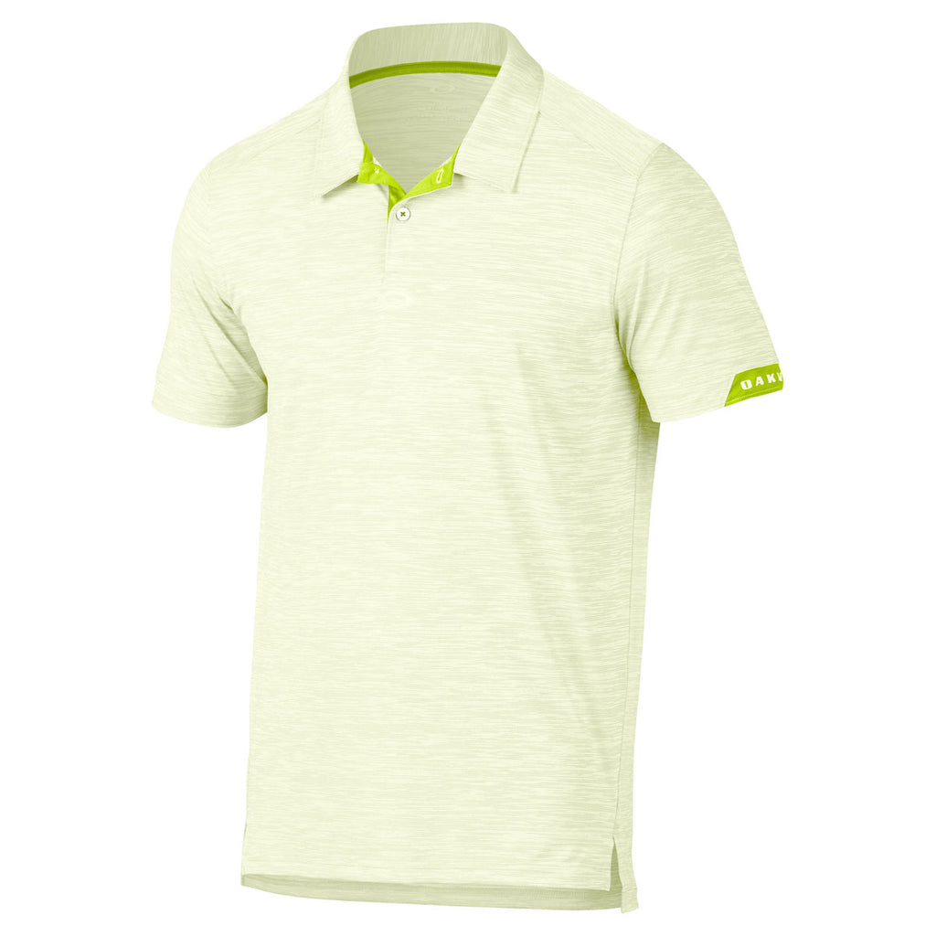57733b0306 Oakley Men s Lime Green Gravity Polo