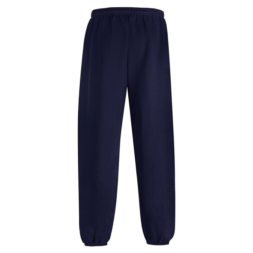 Champion Youth Navy Double Dry ECO Fleece Closed Bottom Pant