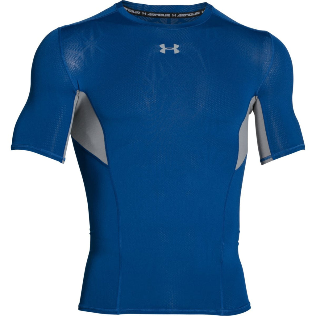 Under Armour Men s Royal HG CoolSwitch Comp Short Sleeve T-Shirt 55e5746bbe