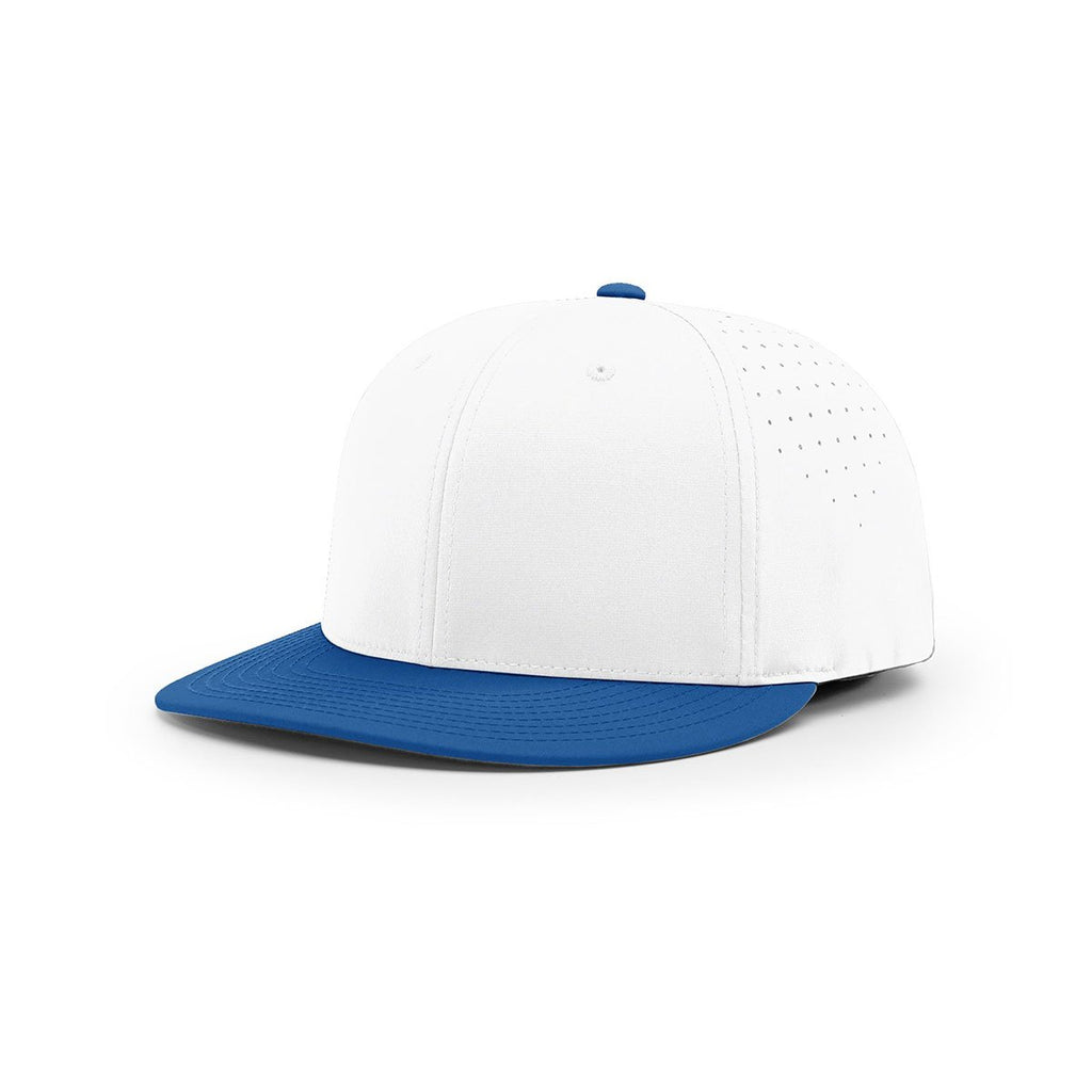 Richardson White Royal Performance Team Series Combination Lite R-Flex Cap 88bd3a31544