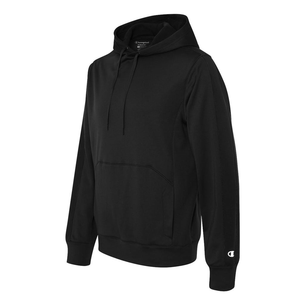 Champion Men's Black Double Dry Performance Pullover Hood