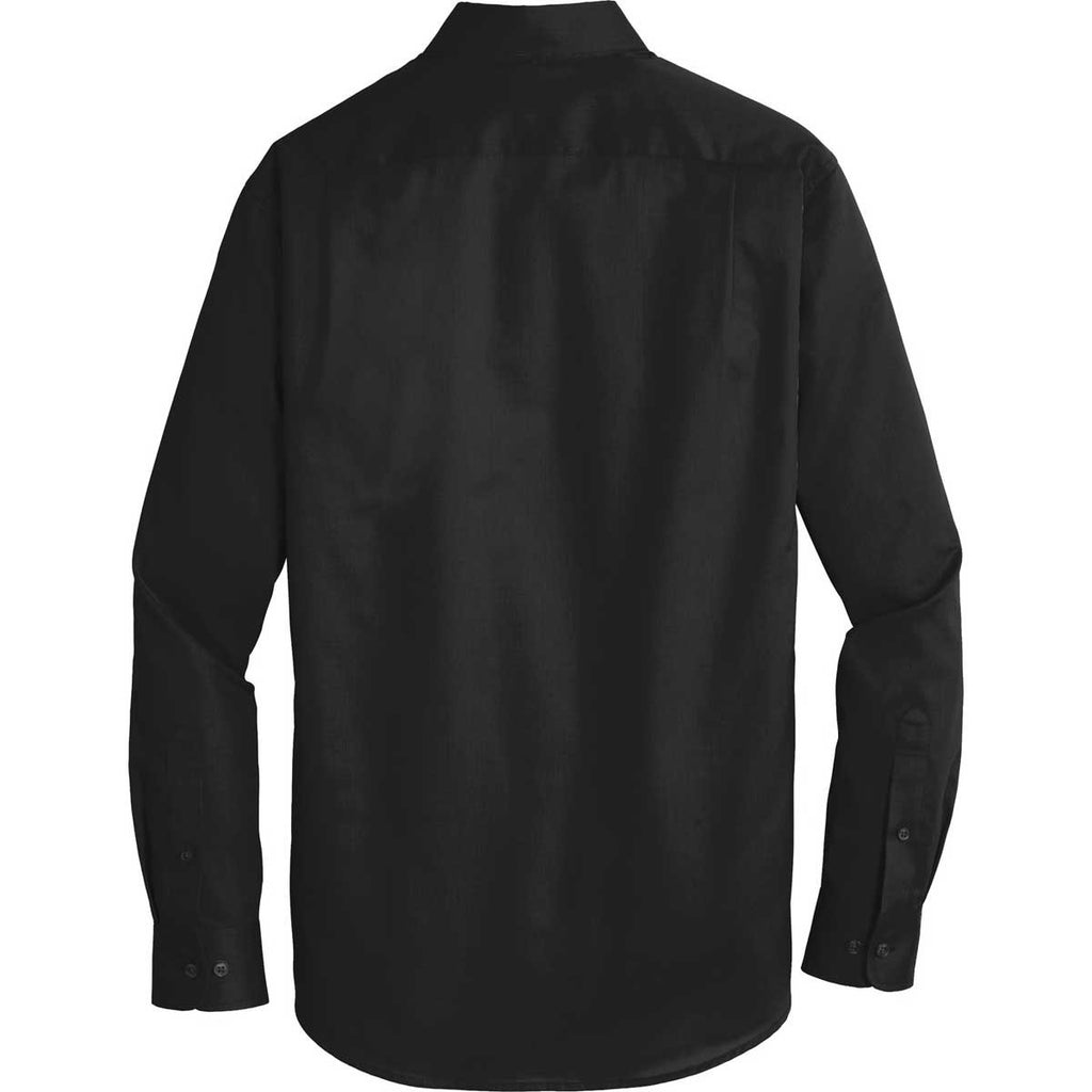 Port Authority Men's Black SuperPro Twill Shirt