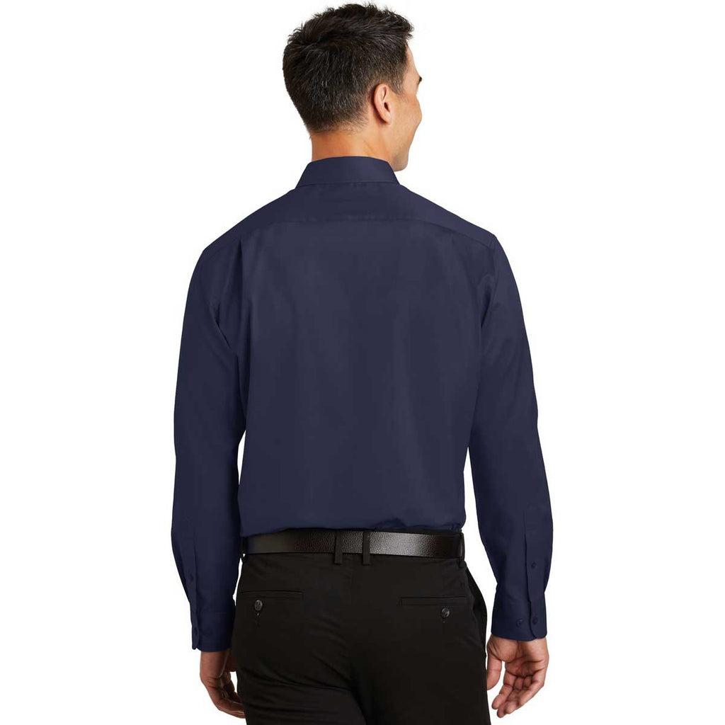 Port Authority Men's True Navy SuperPro Twill Shirt
